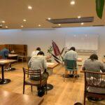 出張講座『名前を1時間で美文字に』を行いました 動画添削やzoomでの稽古も可能な伊勢市の習字・ペン字「ひだまりの森習字教室」